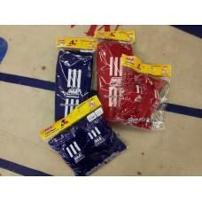 Nationman säärisuoja (sukkamalli) + kyynerpääsuojat pakettihintaan.