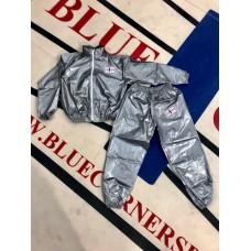 Uutuus! Blue Corner Sport Kumipuku/hikipuku. Takki vetoketjulla ja housut.
